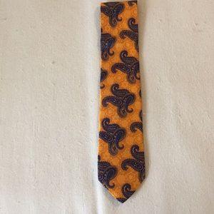 Men's silk Robert Talbott tie